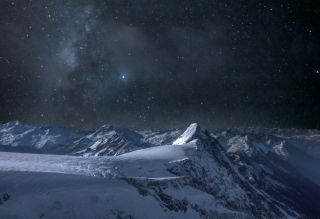 Alps by night_1