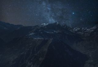 Alps by night_2